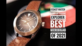 Coast Watch Company Pacific Explorer: The Best Microbrand Watch of 2021