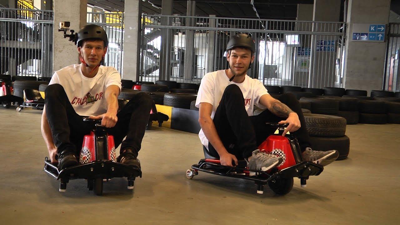 Pierwszy w Polsce tor Crazy Cart