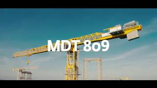 MDT 809 - The topless crane with the highest capacity