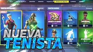 'NEW TENISTA SKIN' FORTNITE STORE 26 janvier