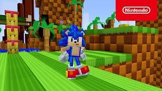 Minecraft x Sonic the Hedgehog DLC - Official Trailer - Nintendo Switch