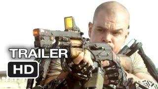 Elysium Official Trailer #1 (2013) - Matt Damon, Jodie Foster Sci-Fi Movie HD thumbnail