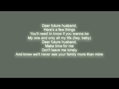 Cover Lagu Dear Future Husband-meghan Trainor Lyrics
