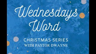 WEDNESDAYS WORD Dec. 30