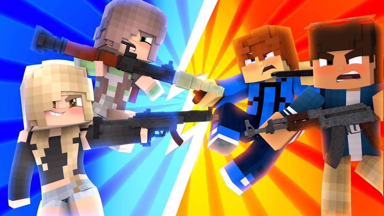Girls VS Boys  Minecraft UHC Ep.9