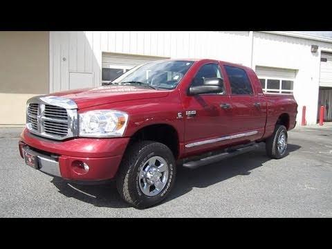 2007 Dodge Ram 2500 Laramie Cummins Mega Cab Start Up, Exhaust, and In Depth Tour - YouTube