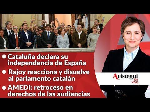 Aristegui en vivo 27 de Octubre