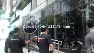 Hậu trường chụp ảnh thương hiệu thời trang Kappa với U23 Việt Nam