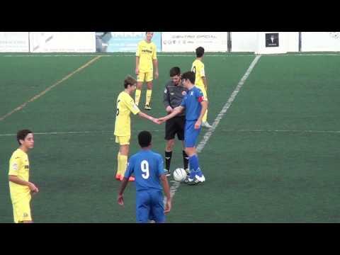 Resumen del partido Cadete A C.F. San Pedro 2 - Villarreal C 2