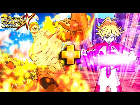 IS IT BROKEN?! THE ONE + LOSTVAYNE IN THE SAME TEAM!!! | Seven Deadly Sins: Grand Cross