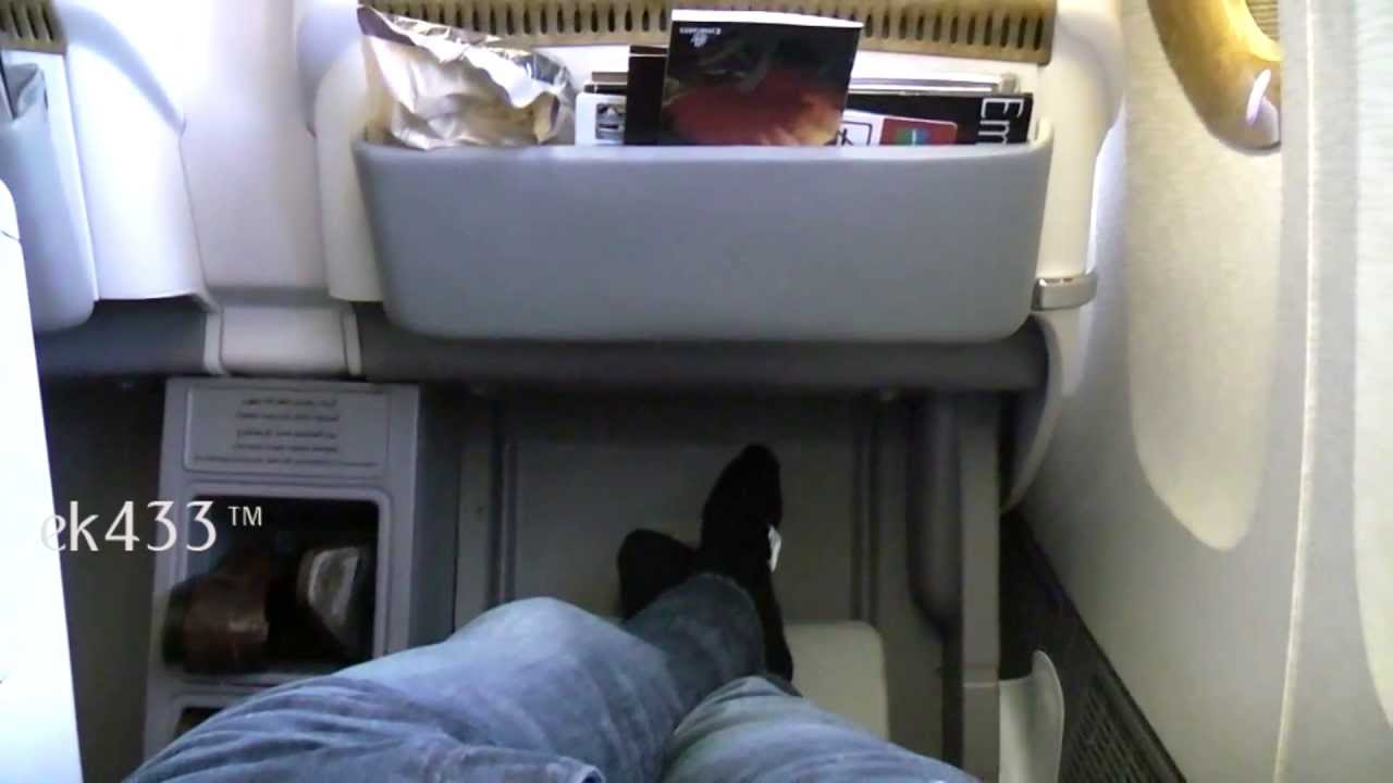 The Emirates Boeing 777 300er Business Class Product