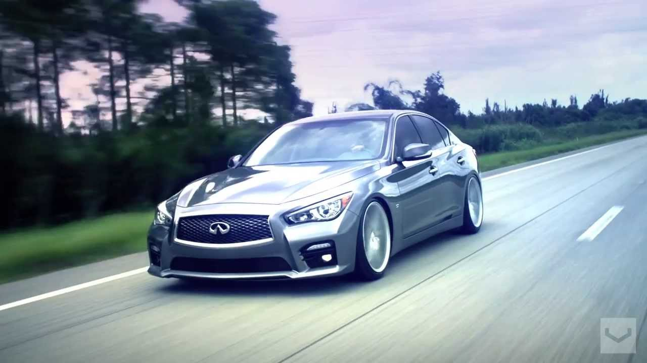 2014 Infiniti Q50 S On 20 Quot Vossen Cv5 Concave Wheels