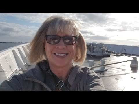 Taking the Port Angeles ferry to Vancouver Island, B.C. Cana