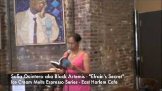 "Ice Cream Melts Espresso Series Sofia Quintero aka Black Artemis author of  ""Efrain's Secret"" Thumbnail"