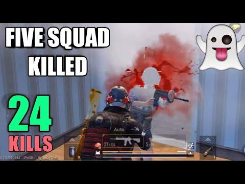 I Killed A Ghost | 24 Kills Vs Squad | PUBG Mobile