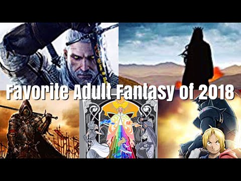 FAVORITE BOOKS OF 2018 | ADULT FANTASY