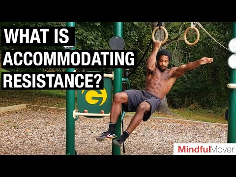 Breaking down ACCOMMODATING RESISTANCE