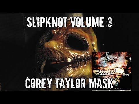 Slipknot Corey Taylor Volume 3 Mask!!