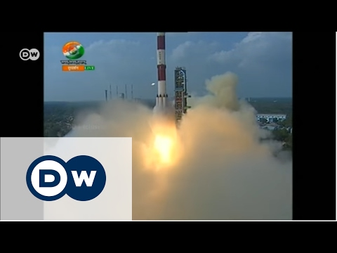 Hindistan uydu fırlatma rekoru kırdı - DW Türkçe
