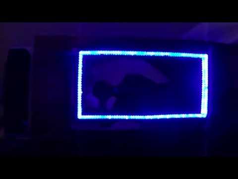 видео: Эффектная rgb-бесконечность зеркала своими руками