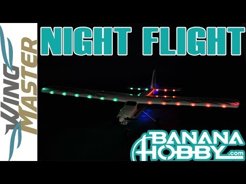 Wing Master BlitzRCWorks | Night Flight | Flight Trainer