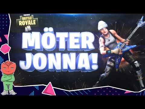 MÖTER JONNA PÅ FORTNITE!