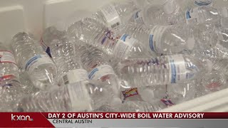 Update on day 2 of Austin's boil water notice