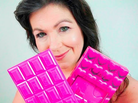 NEW Full review ofTAM Makeup Revolution I Heart Makeup Chocolate love TAM  palette