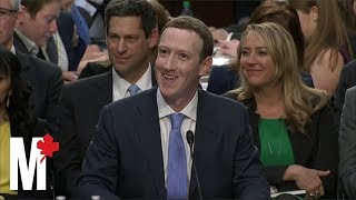 Mark Zuckerberg's Facebook senate hearing: Six awkward moments