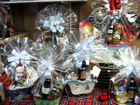 Holiday gift baskets youtube holiday gift baskets negle