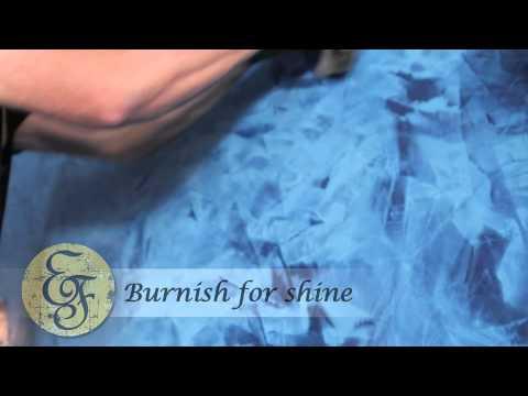 European Finishes - Venetian Plaster Application (Carmel Cafe / Sarasota, FL) (941) 544-6000