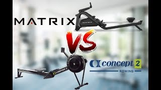 Which is The Best Rower?: Concept 2 vs. Matrix