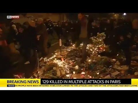 Stampede In Place De La Republique In Paris After False Alarm