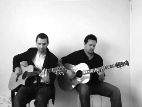 RockPop acoustic guitar duo  Medley