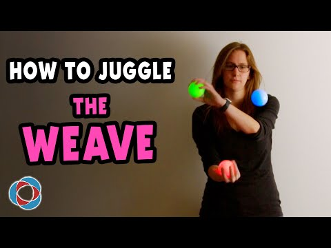 How to Juggle 'The Weave' - Beginner Juggling Tutorial