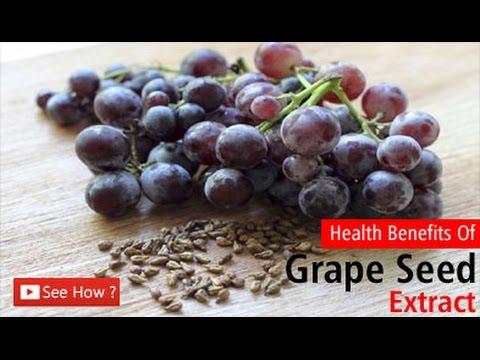 अंगूर के बीजों के फायदे   Health Benefits Of Grape Seed Extract