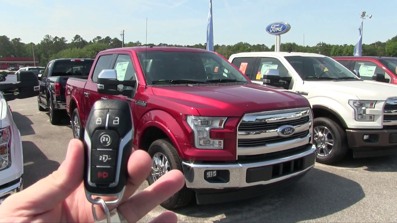 2017 New Ford F150 Lariat Truck Walkaround Review Ravenel Better Pricing Specs