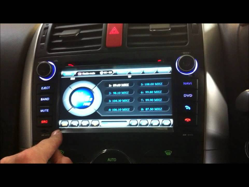 Toyota Gps Navigation System Oem Replacement Youtube