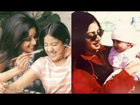 Jhanvi Kapoor's UNSEEN Sweet Moments With Mother Sridevi
