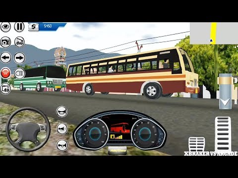 Bus Simulation 2018 Mobile | Bus Driving - Android GamePlay 3D