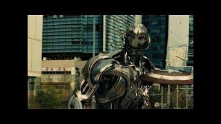 Бой Капитан Америки против Альтрона - Мстители: Эра Альтрона / Avengers: Age of Ultron - HD
