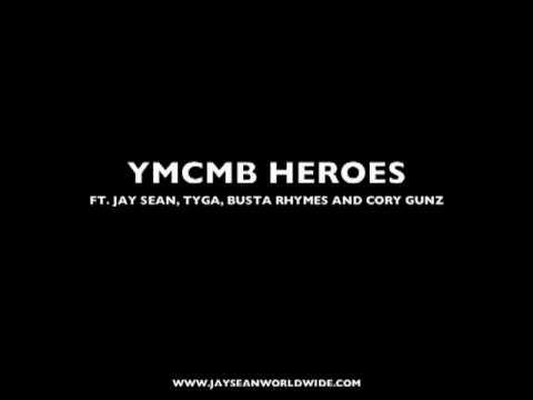 YMCMB HEROS Ft. Jay Sean, Tyga, Busta Rhymes and Cory Gunz