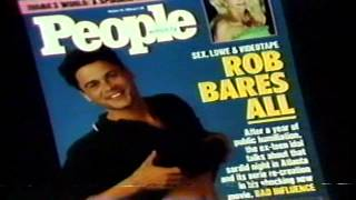 1990 People Magazine commercial Rob Lowe front cover scandal Thumbnail