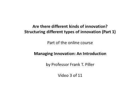 03 Structuring different types of innovation 1