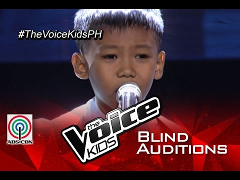 "The Voice Kids Philippines 2015 Blind Audition: ""No Good In Goodbye"" by Rock"