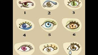 Выберите глаз – и сможете узнать 1 свою главную ″фишку″