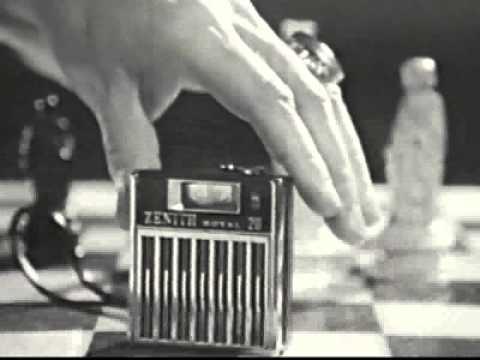 ZENITH radios- Old Commercials