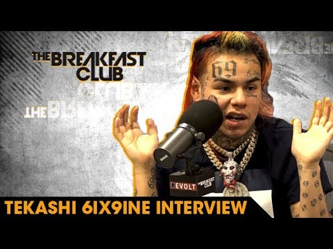The Breakfast Club - Top 10 Interviews Of 2018: #1 Tekashi 6ix9ine Loves Being Hated