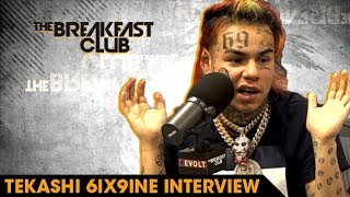 6ix9ine Explains Why He Loves Being Hated Rolling With Crips And Bloods  Why Hes The Hottest