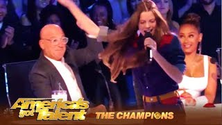 Courtney Hadwin: Shy Rocker Girl Is Back With SHOCKING Performance | America's Got Talent: Champions